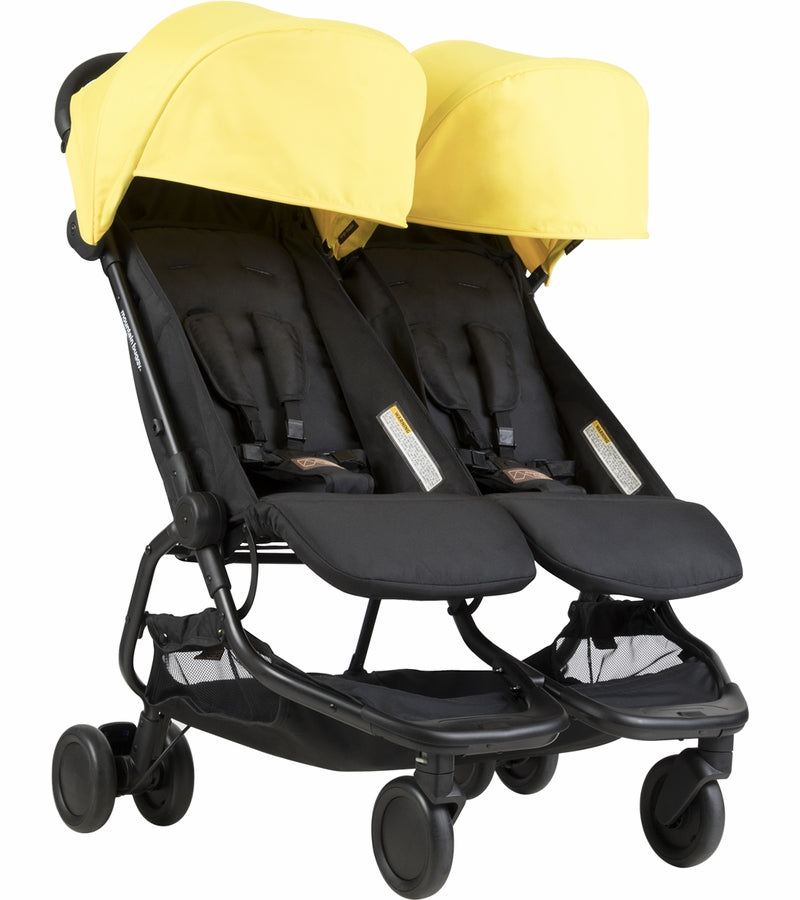 Mountain Buggy Nano Duo Double Stroller - Cyber Citron