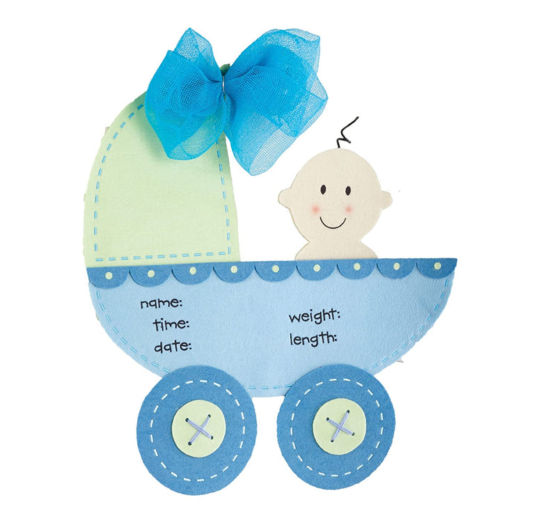 Mud Pie® Stroller Door Hanger - Blue- Limited to 1 per customer