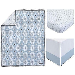 Petunia Pickle Bottom Southwest Skies 3-Piece Crib Bedding Set- Limited to 1 per customer
