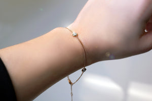 Triple Diamond Bracelet (Includes 4 diamonds)