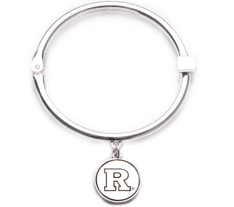 Rutgers Scarlet Knights Hinge Bangle Bracelet