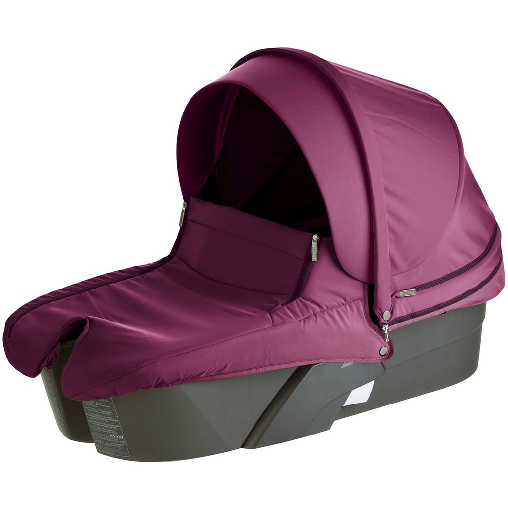 Stokke XPLORY Carry Cot Complete Kit in Purple- Limited to 1 per customer