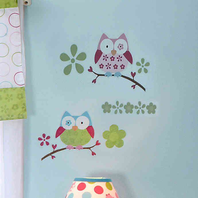 Taggies™ Owl Crib Wall Decals- Limited to 1 per customer