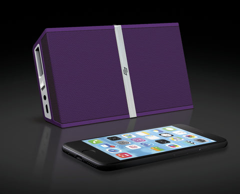 TRANSIT Purple – Portable Bluetooth® Speaker