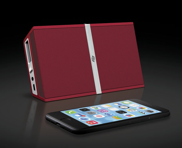 TRANSIT Red – Portable Bluetooth® Speaker