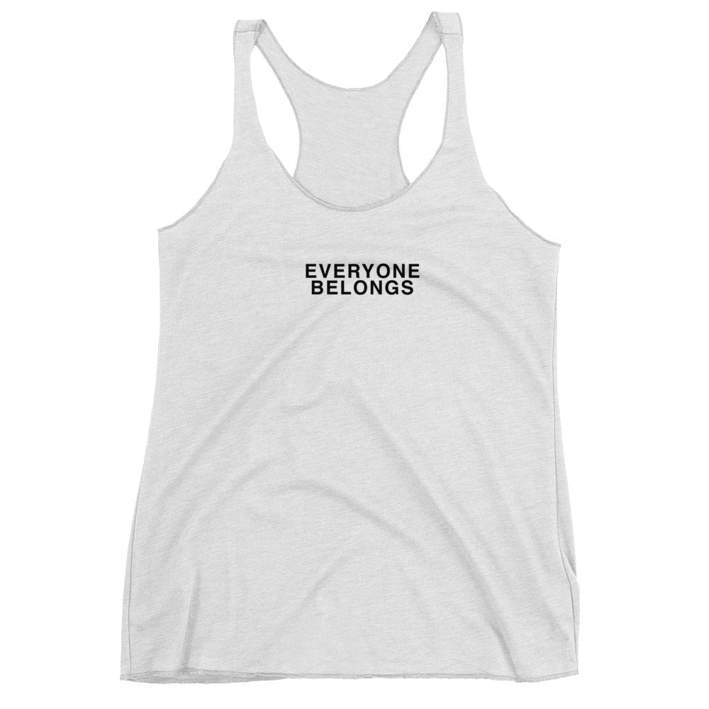 'Everyone Belongs' Racerback Tank
