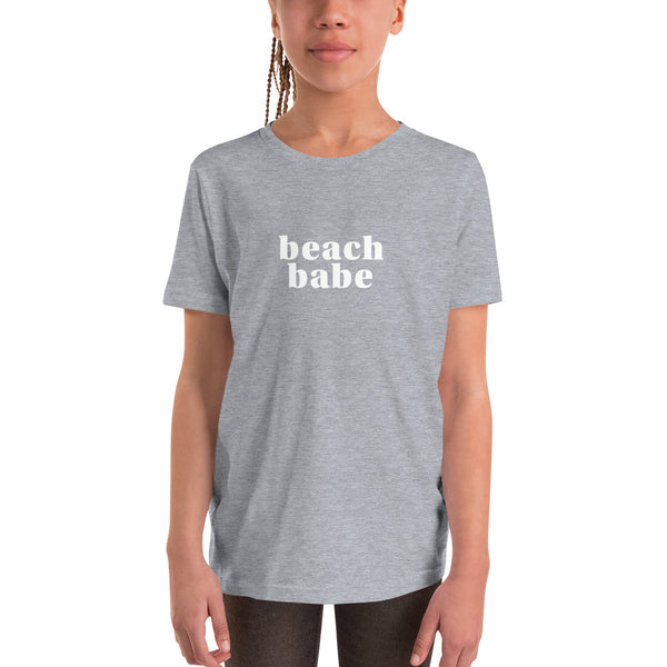 'Beach Babe' Youth Short Sleeve T-Shirt
