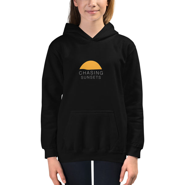 Kids Chasing Sunsets Hoodie