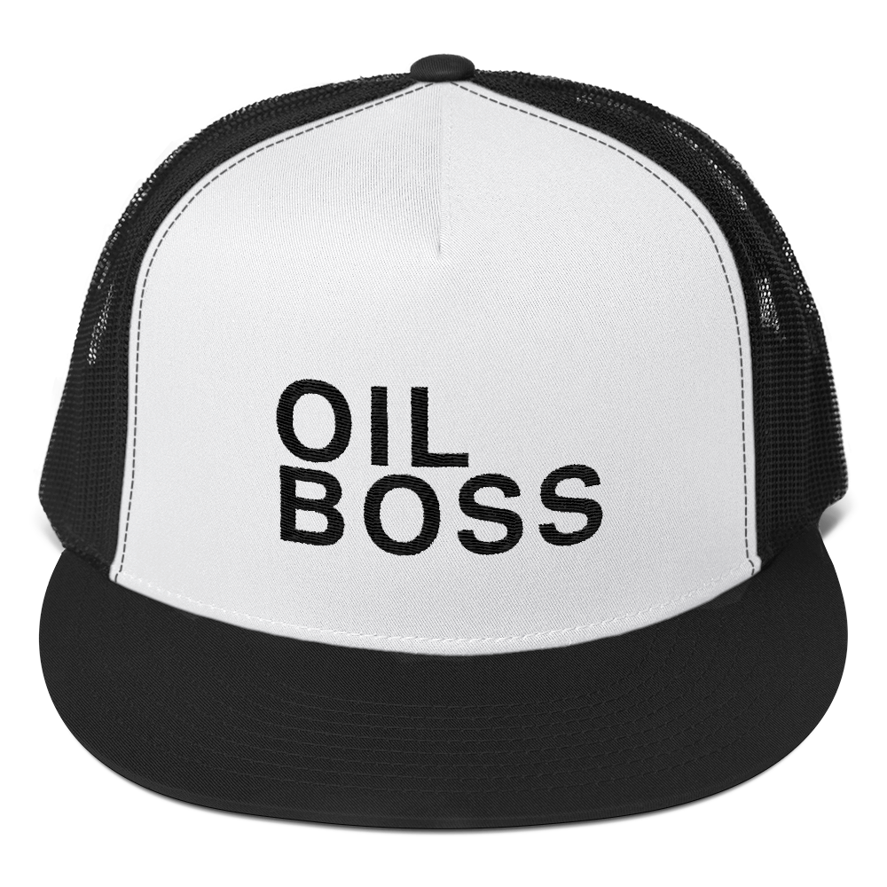 'Oil Boss' Trucker Cap
