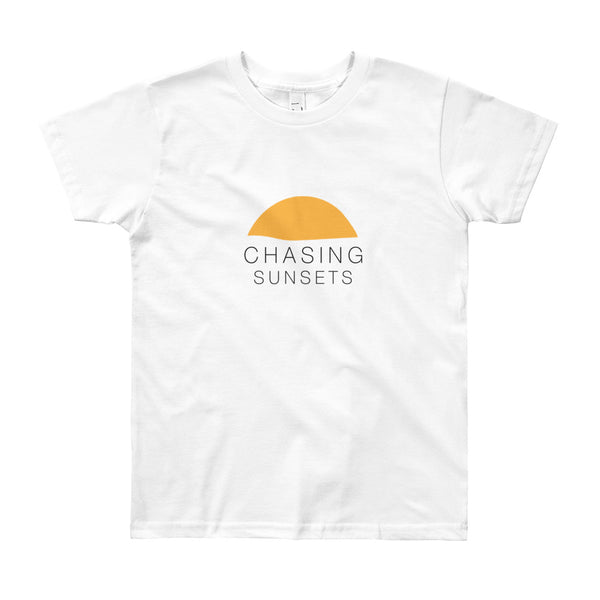 Youth Chasing Sunsets Short Sleeve T-Shirt
