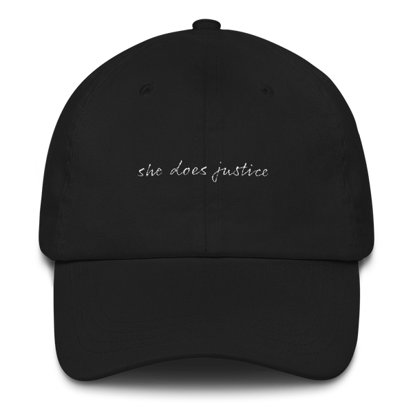 'She Does Justice' Dad Hat