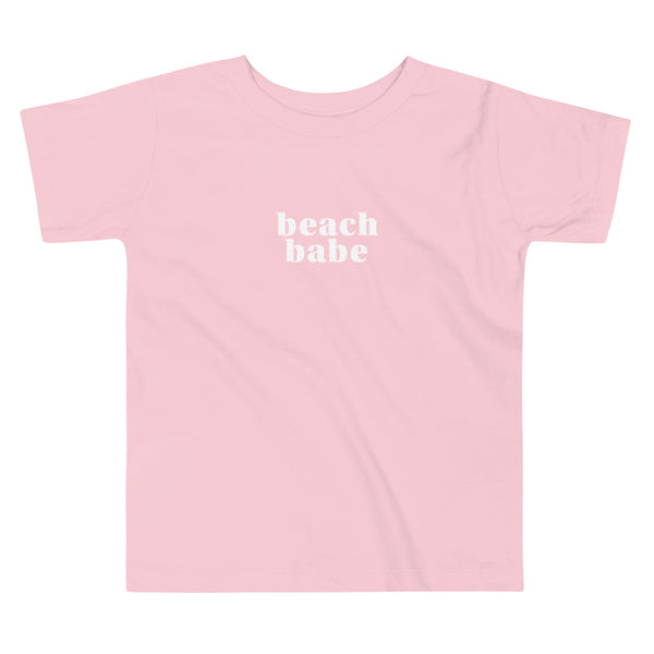 'Beach Babe' Toddler Short Sleeve Tee