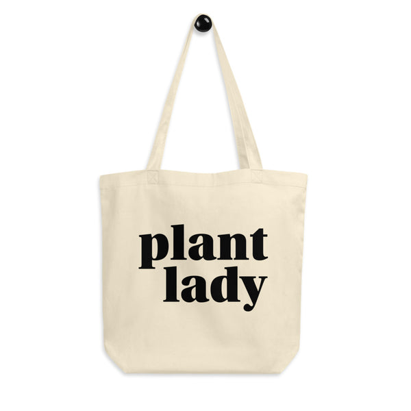 'Plant Lady' Eco Tote Bag