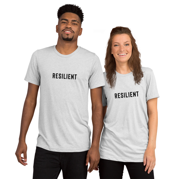 'Resilient' Short Sleeve Size Inclusive Tee