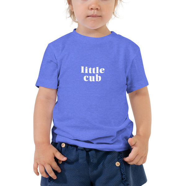 'Little Cub' Toddler Short Sleeve Tee