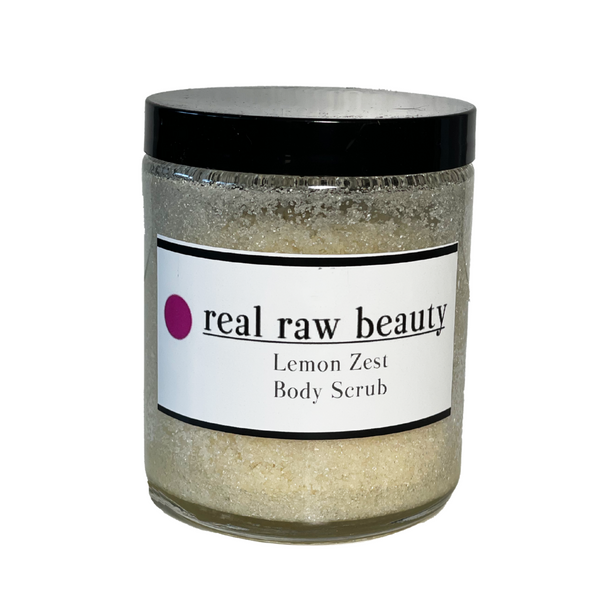 Lemon Zest Body Scrub