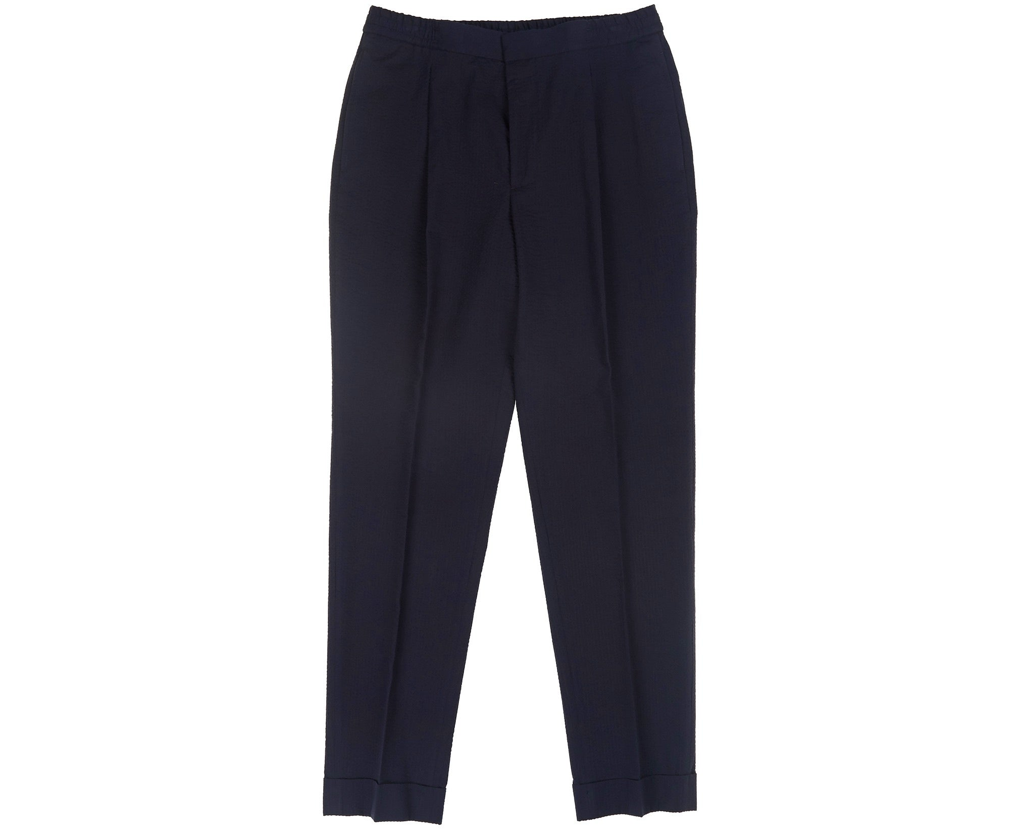 Drew Seersucker Pants Navy