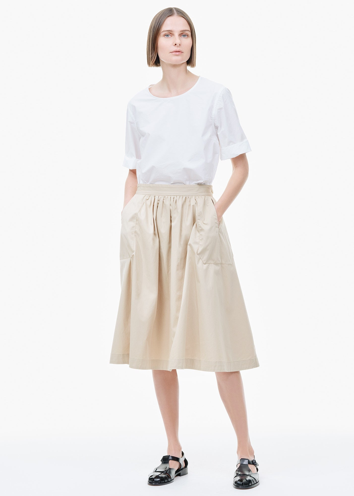 Tablier Balais Skirt Putty
