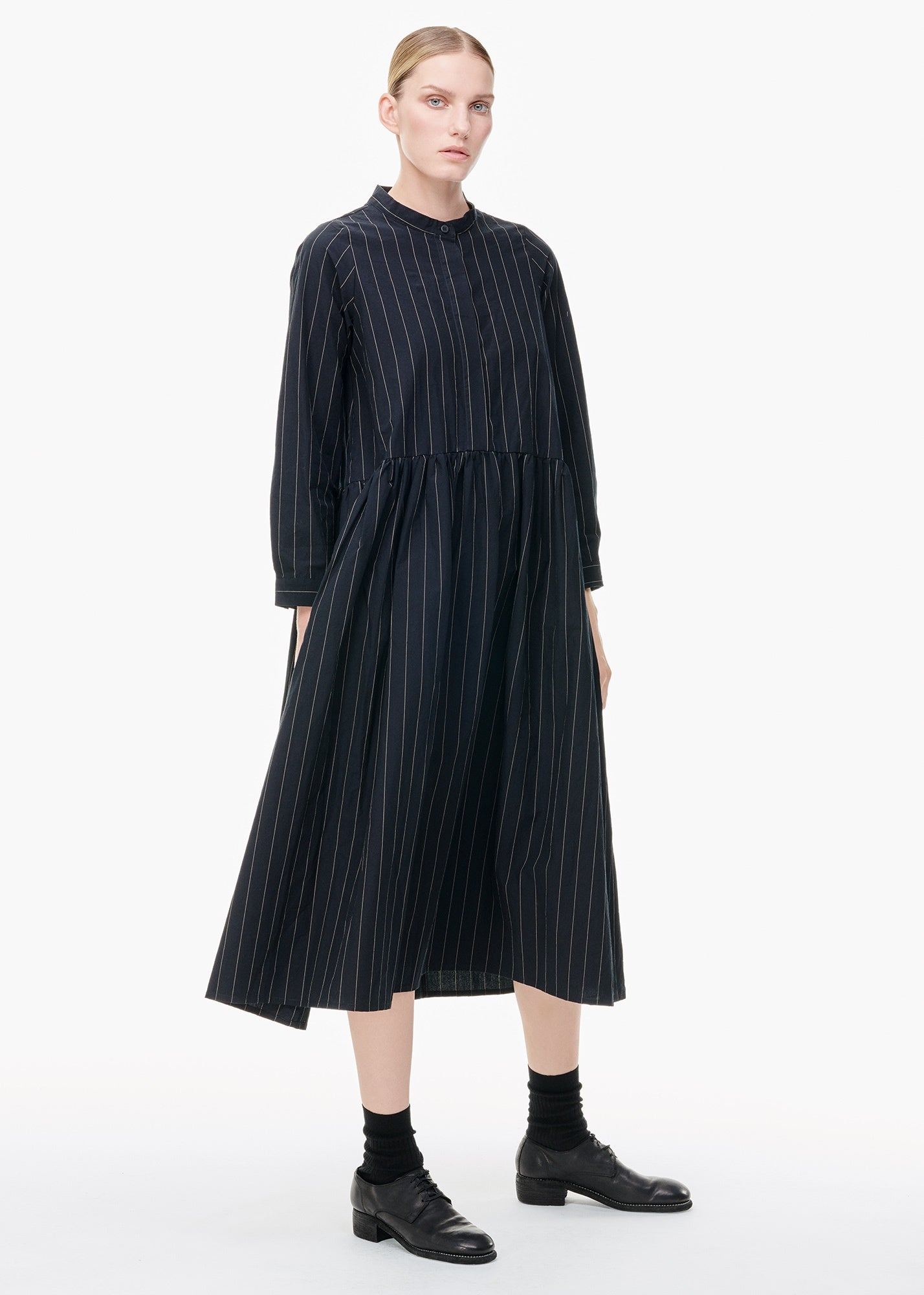 Long Sleeve Farmer Dress