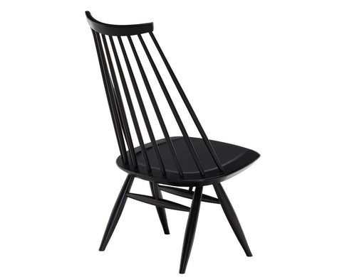 Mademoiselle Lounge Chair Black