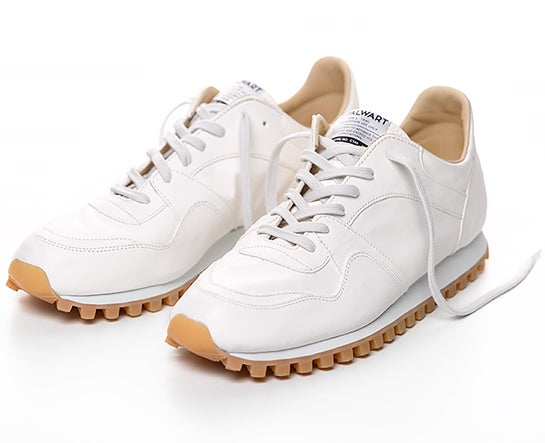 Marathon Trail Low Full Leather White