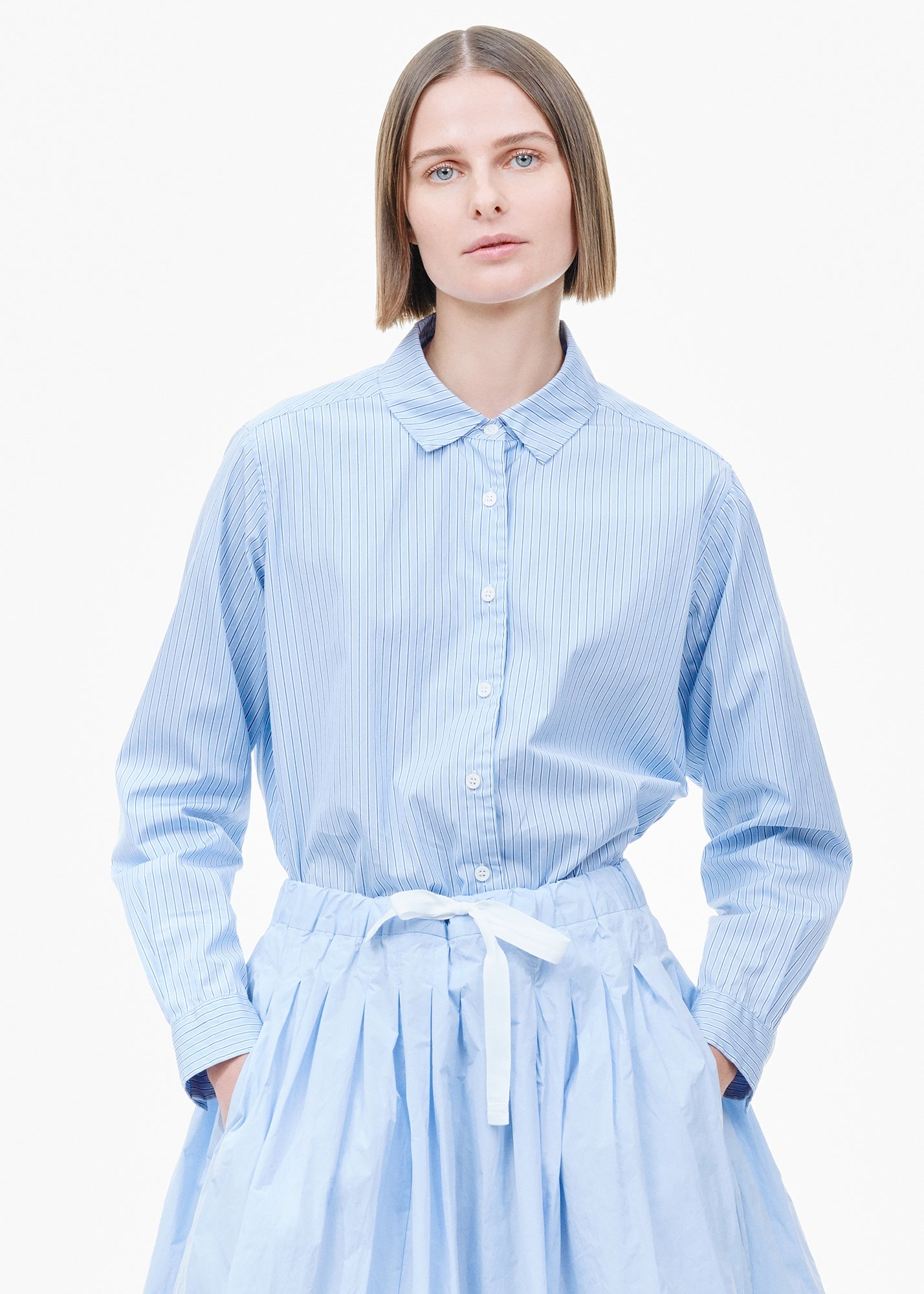 Marine Shirt Blue/ White Stripe