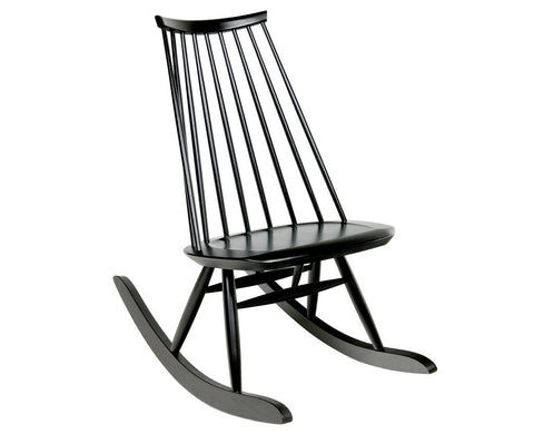 Mademoiselle Rocking Chair Black