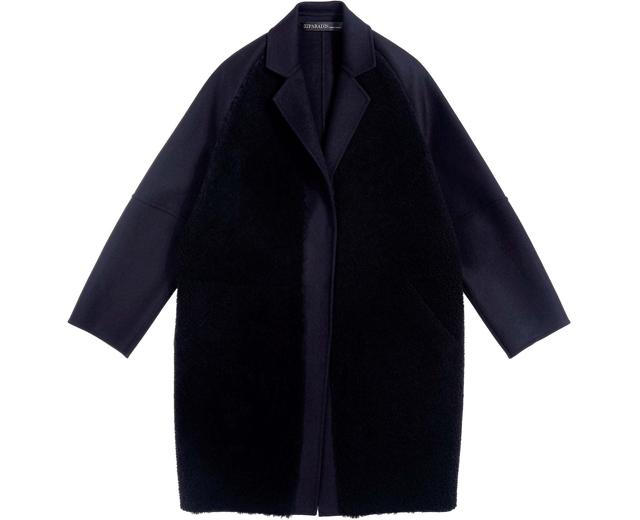 Physicien Coat Midnight