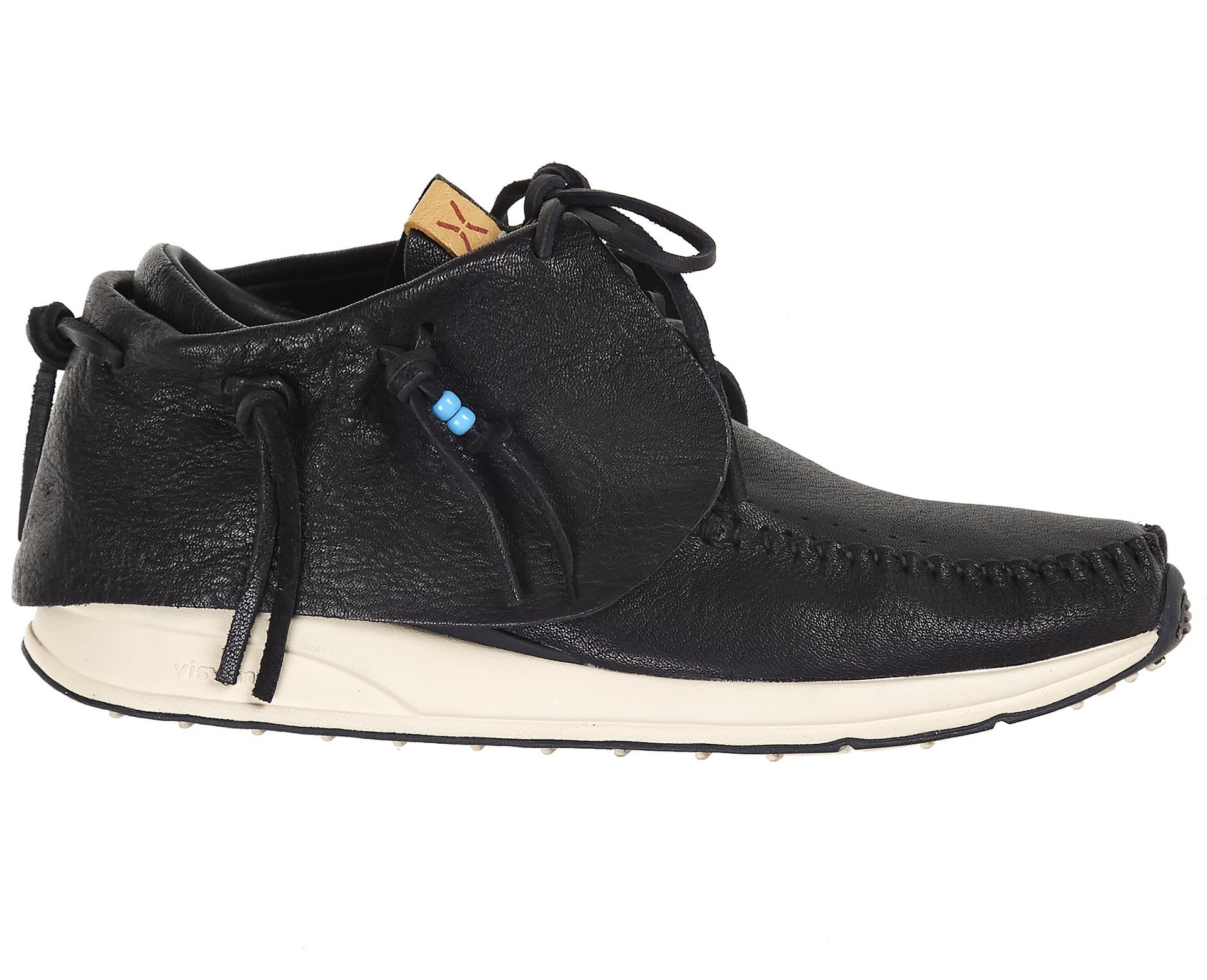 Visvim Men's FBT Red Deer Black