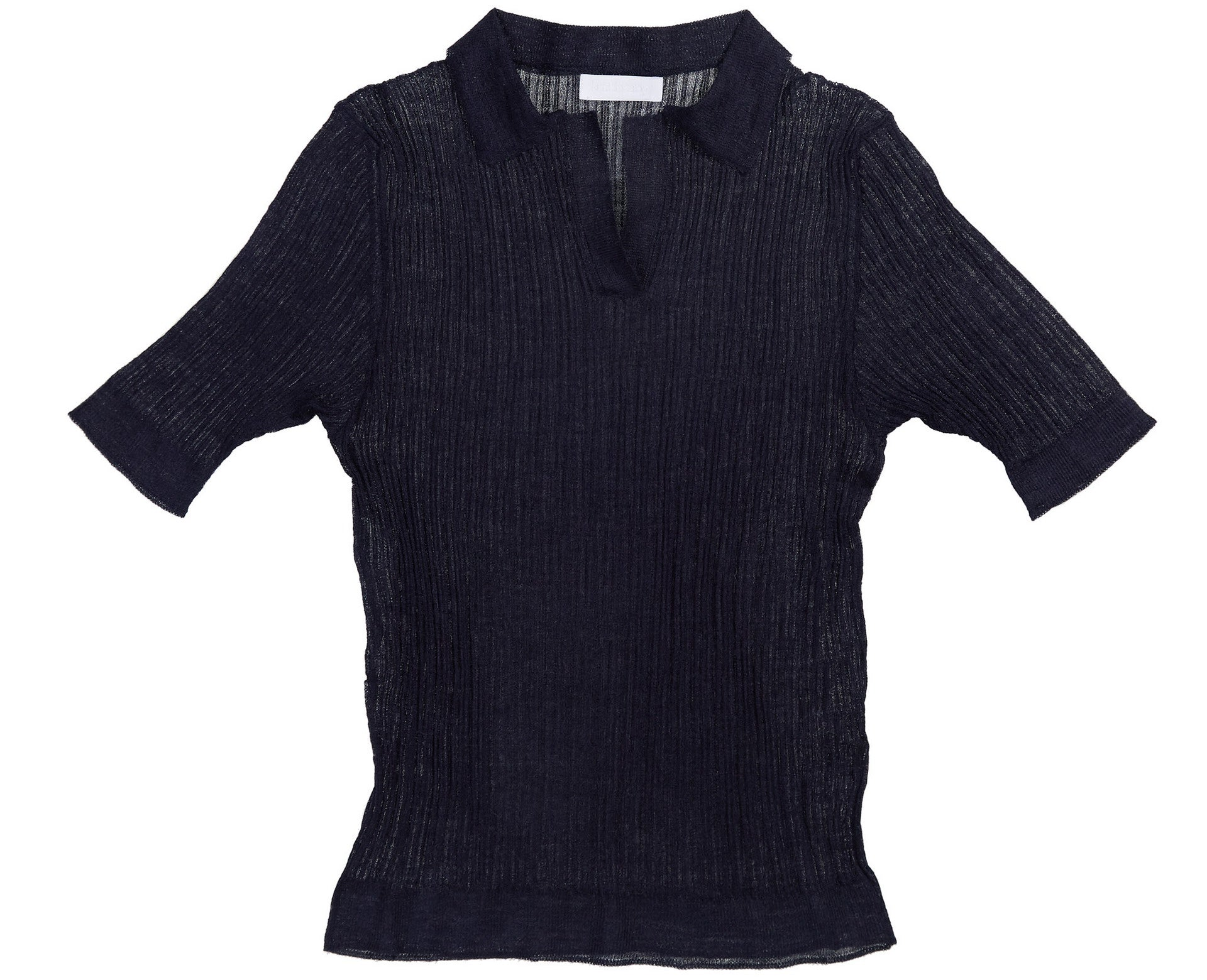 Knitbrary Sheer Polo