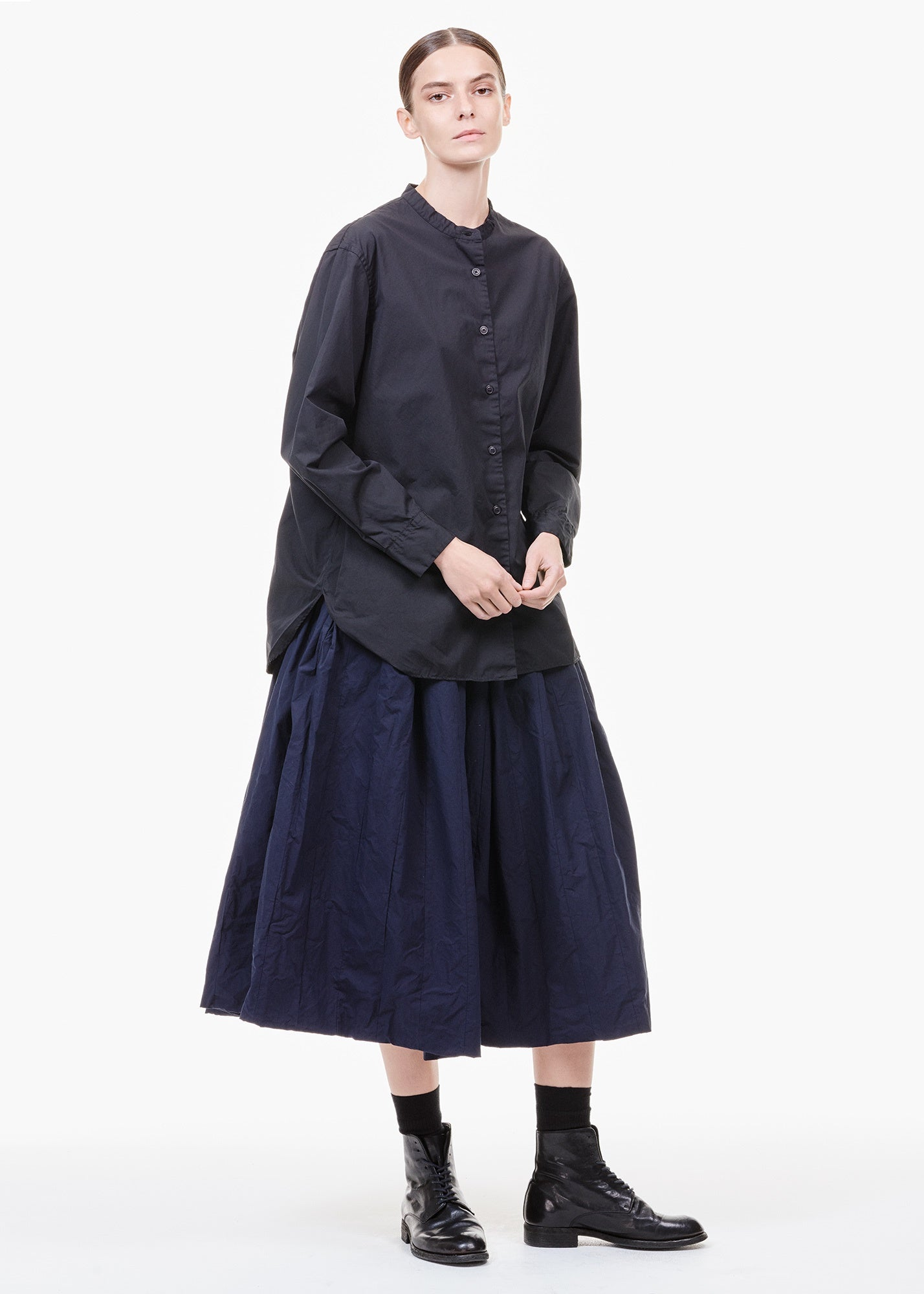 Bande Skirt Navy