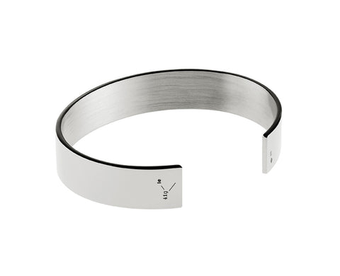 Le 41 Polished Sterling Silver Cuff