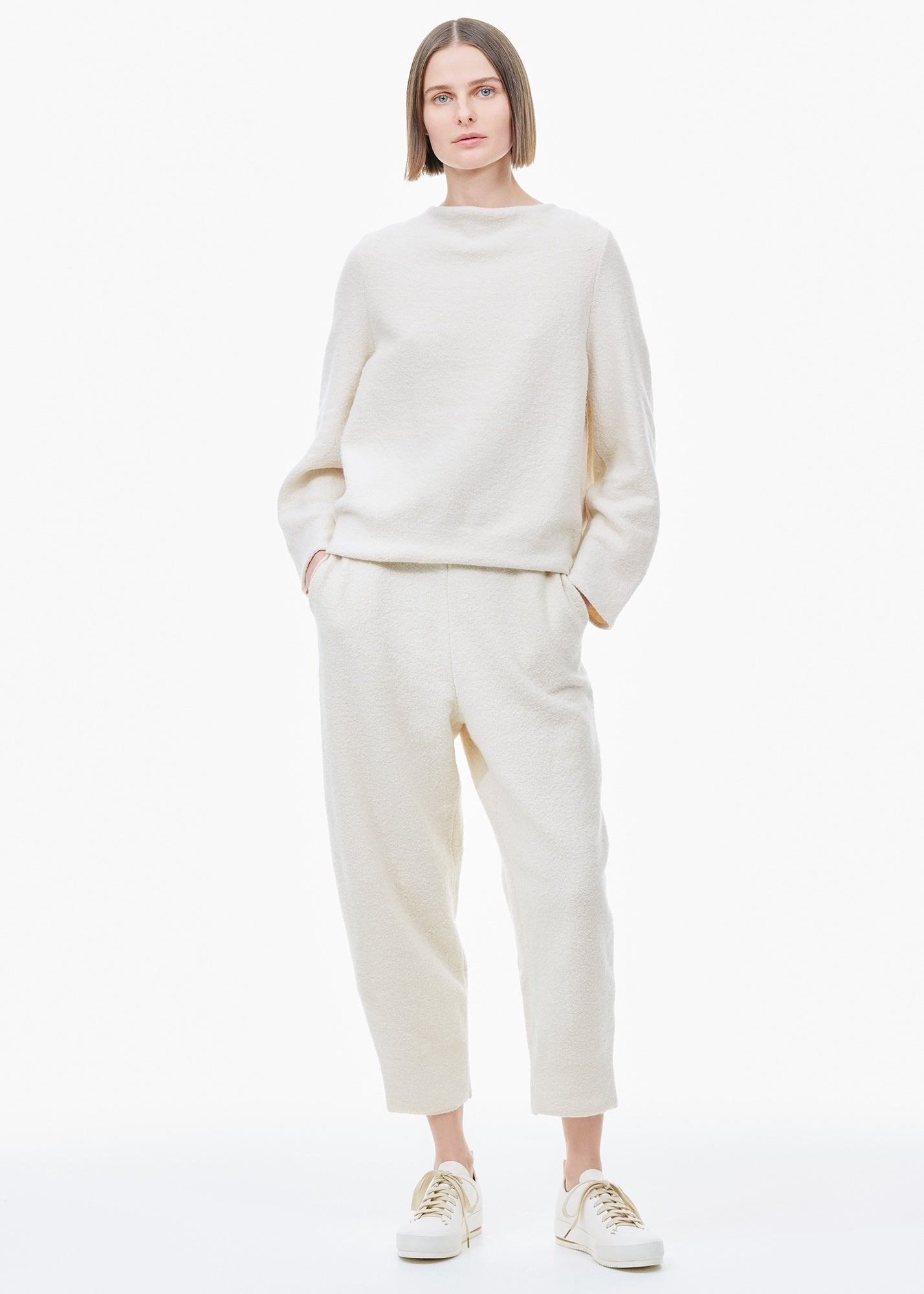 Soft Cotton Pants Natural