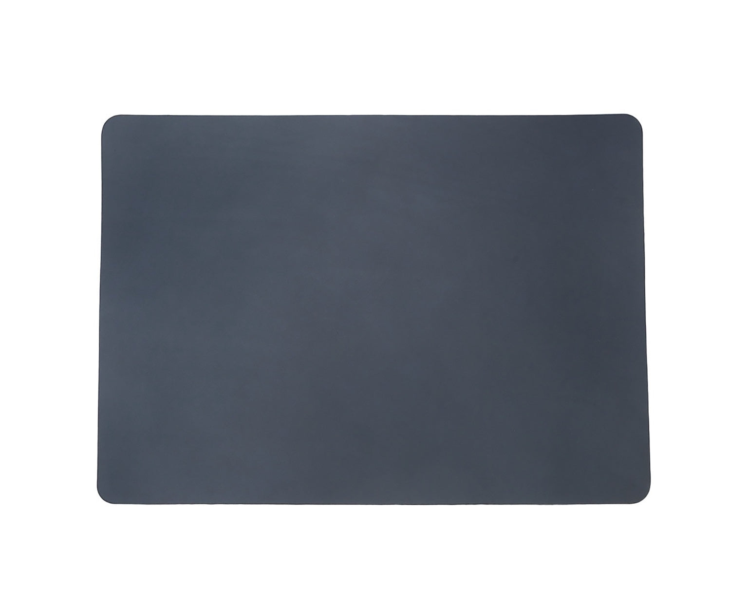 Isaac Reina Leather Mouse Pad A3 Navy