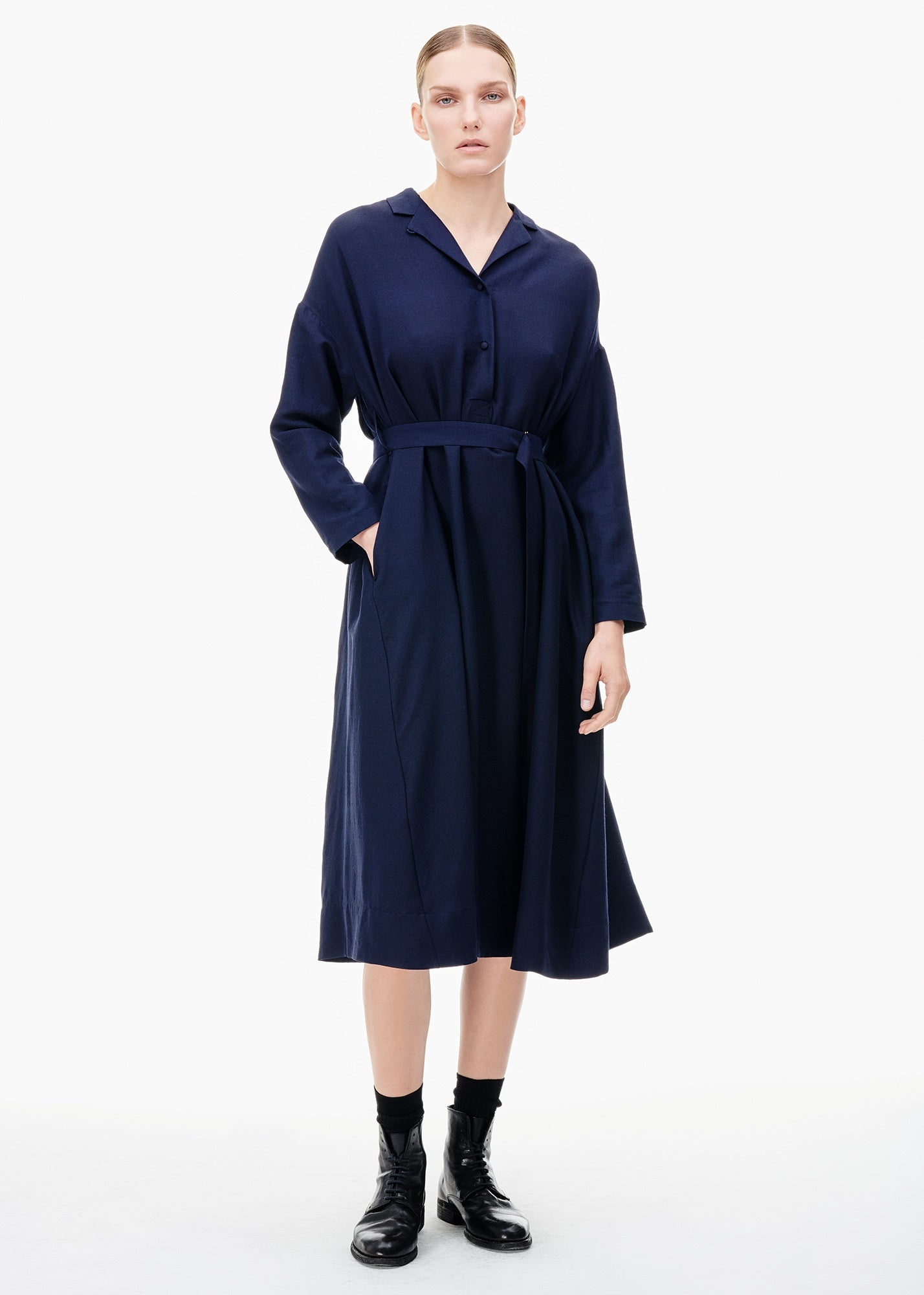Daisy Dress Navy