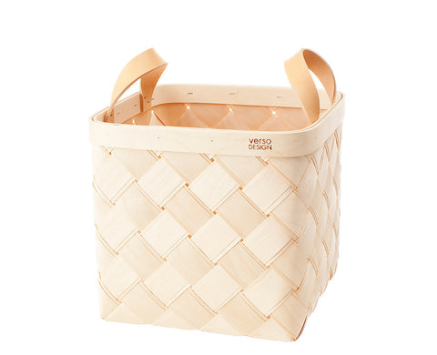 Lastu Birch Basket M