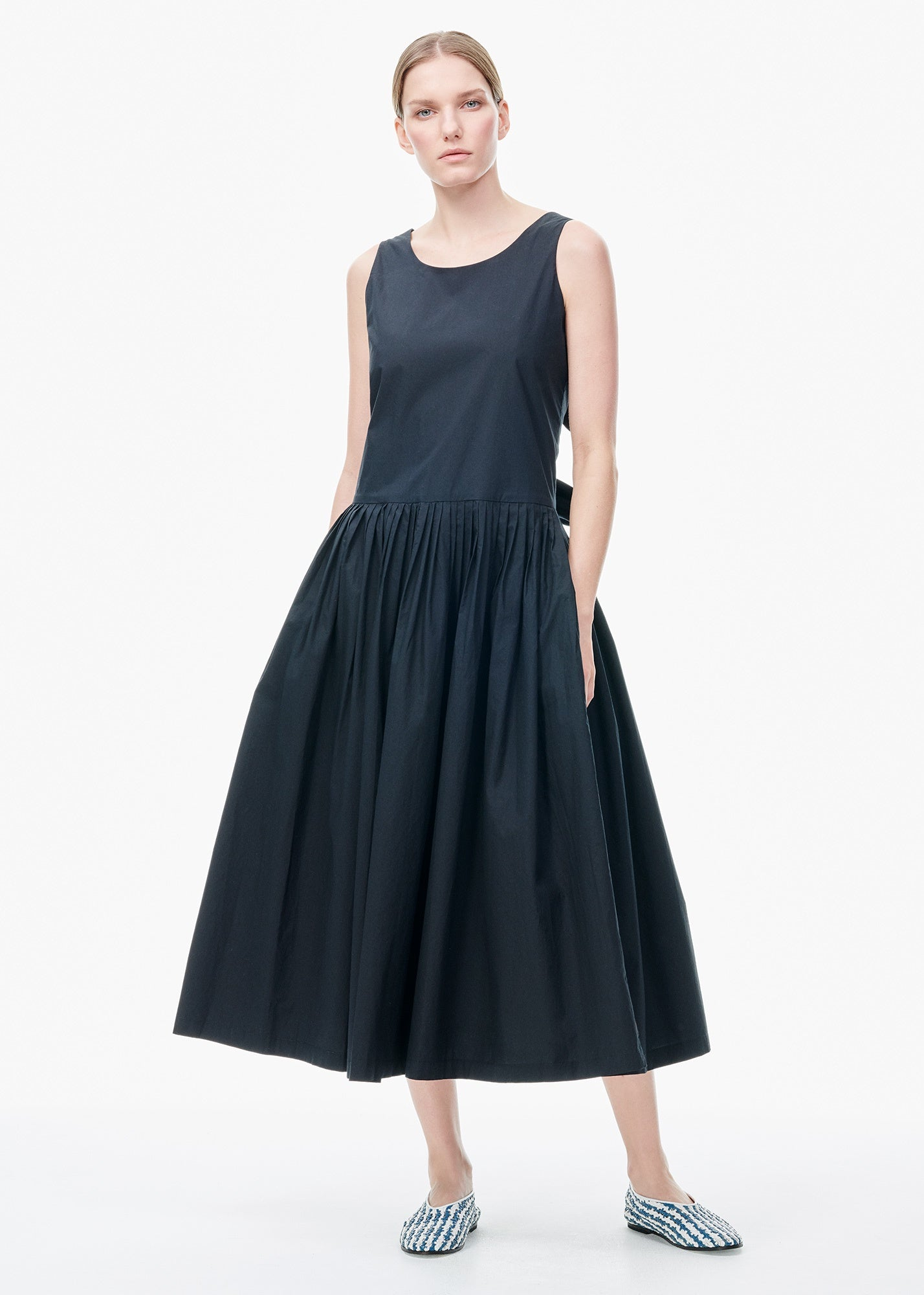 Back Bows Dress Black