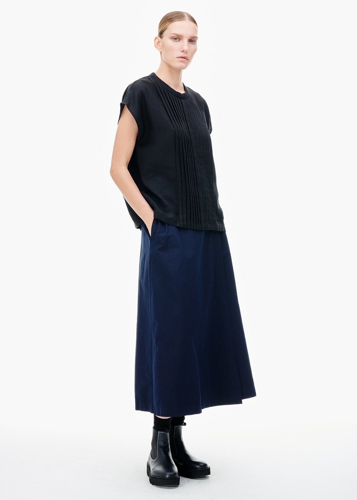 Wrap Long Skirt