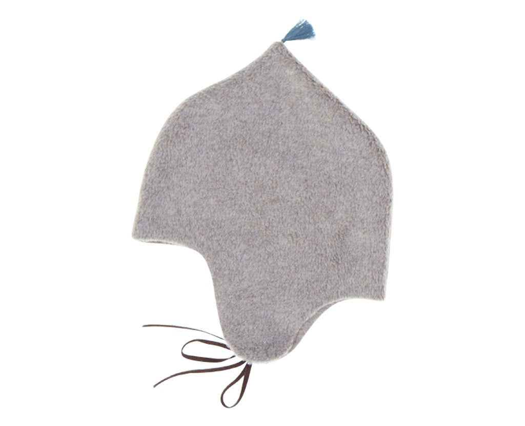 Fleece Bonnet Beige