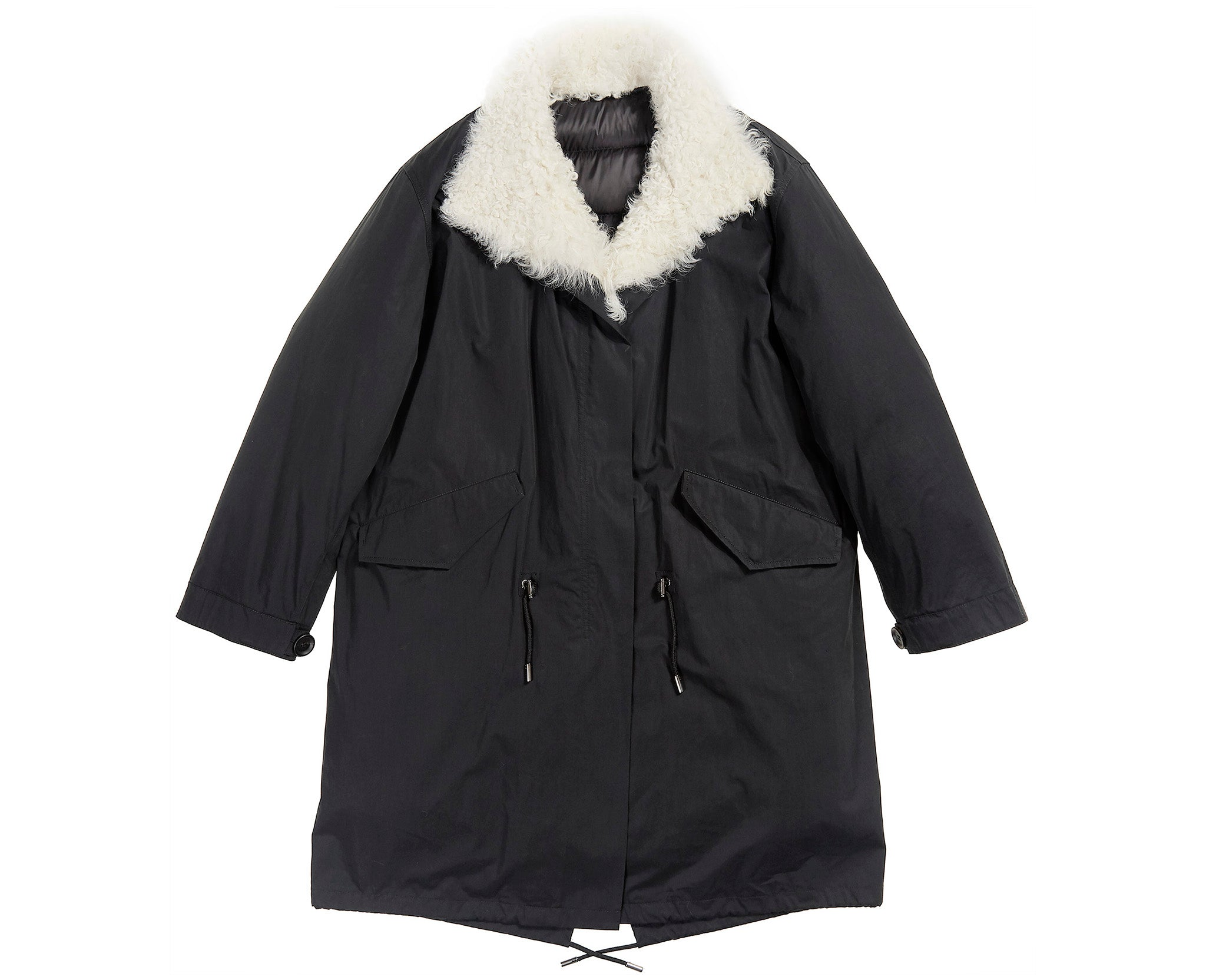 Bachette Coat Black