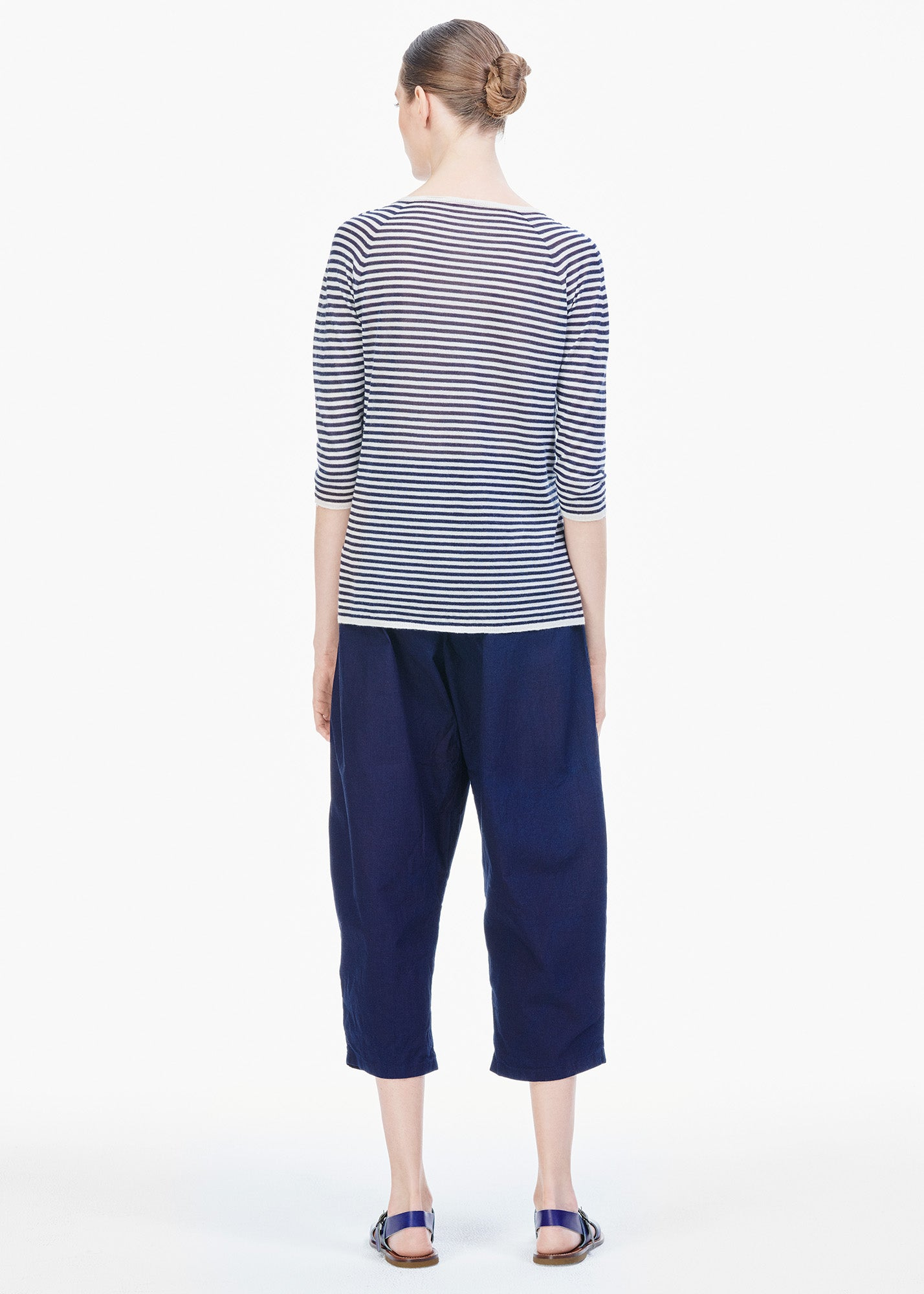 Cotton Pants Natural Indigo
