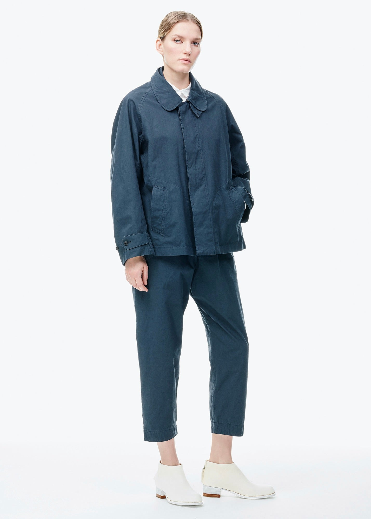 Short Balmacaan Jacket