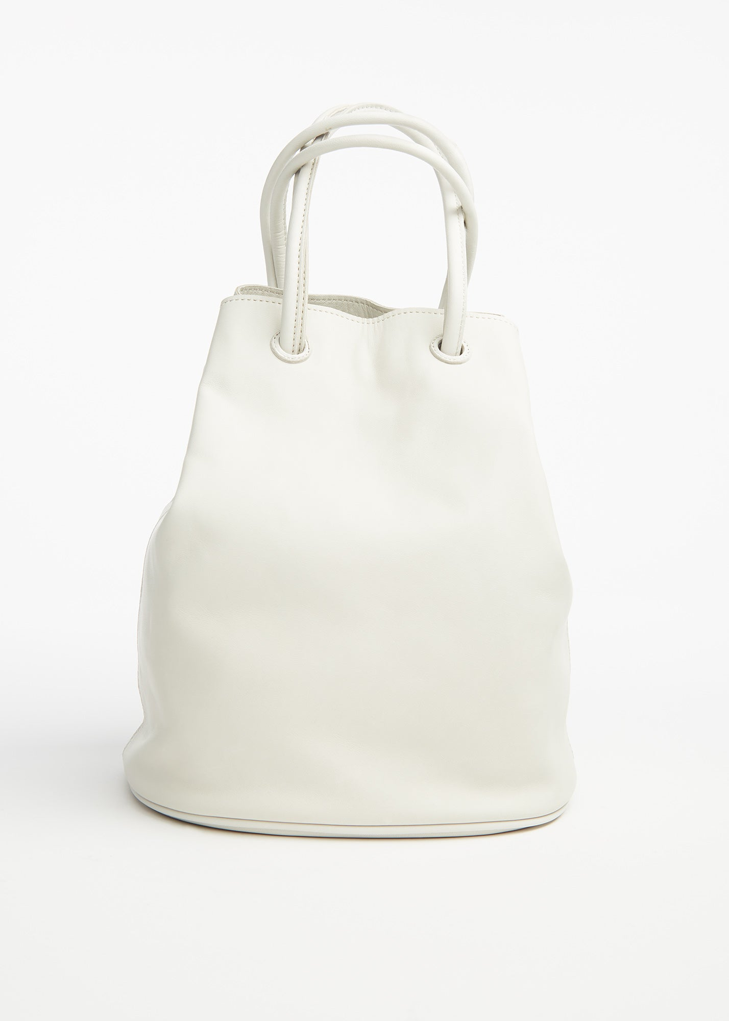 Oval Lantern Bag Off White