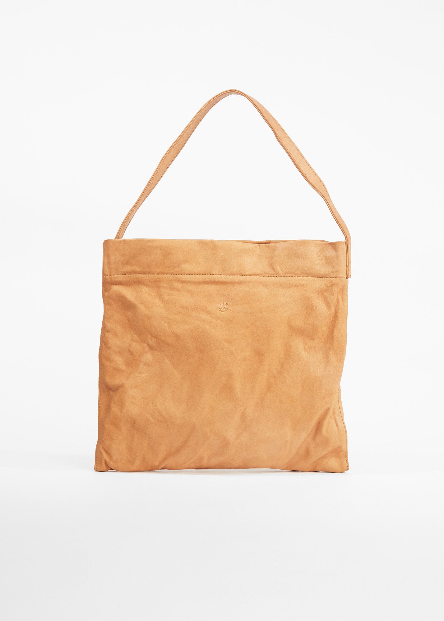 Small Original Tote Long Dark Beige
