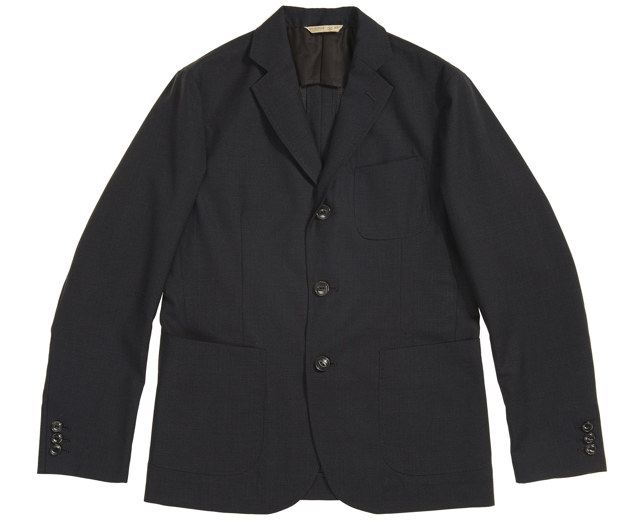 Arts & Science Blazer Mix Wool