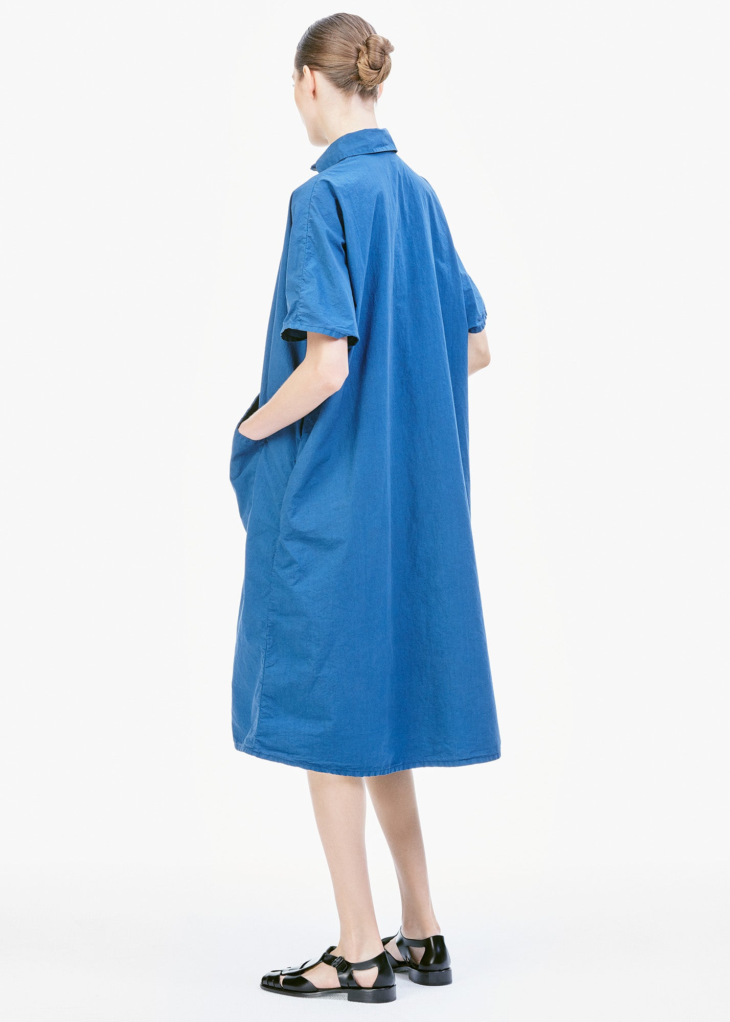 Bell Dress Deep Blue
