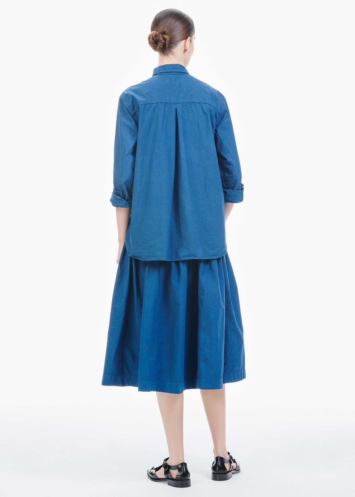 Farmer Skirt Deep Blue