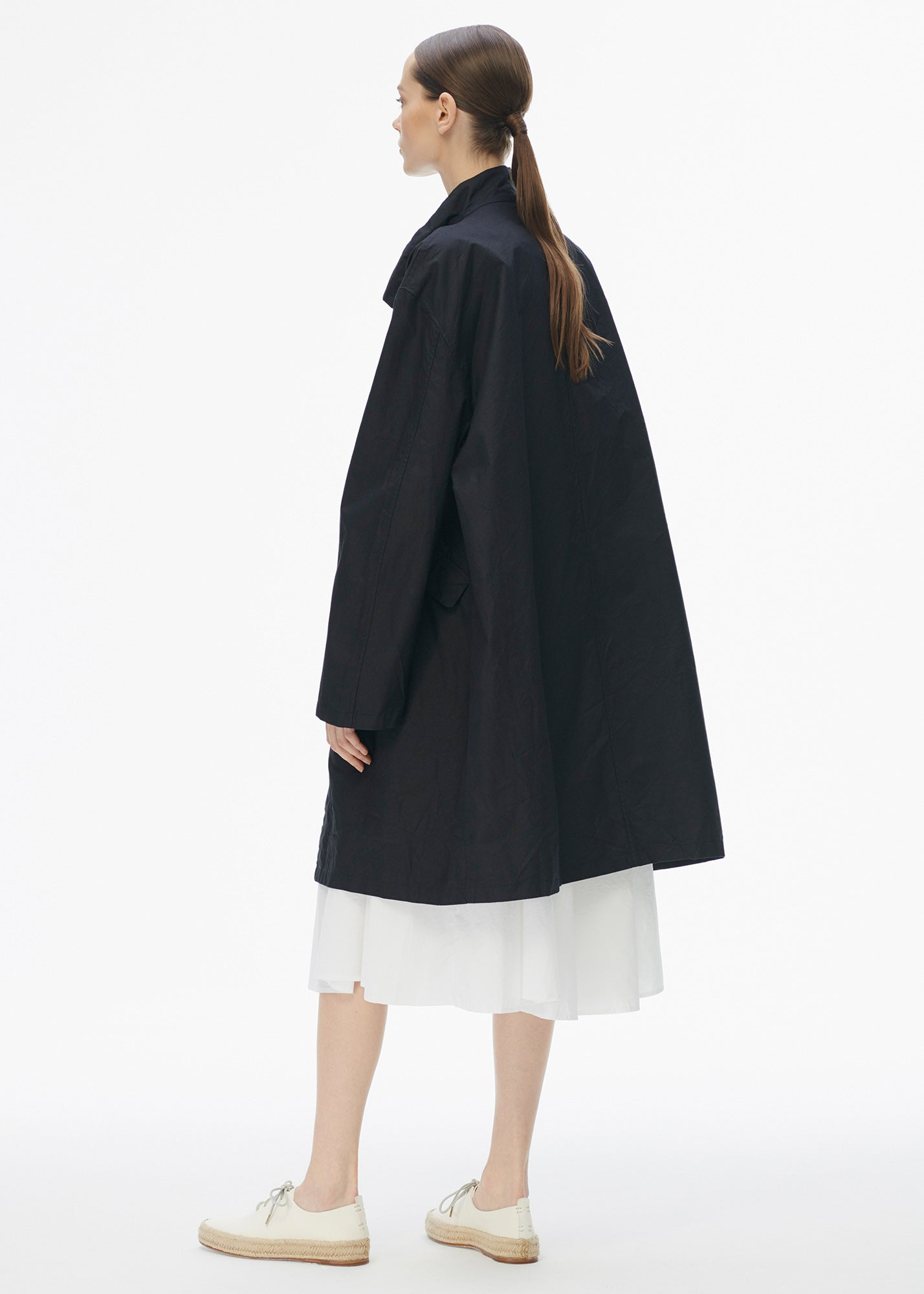 Oversized Coat Navy