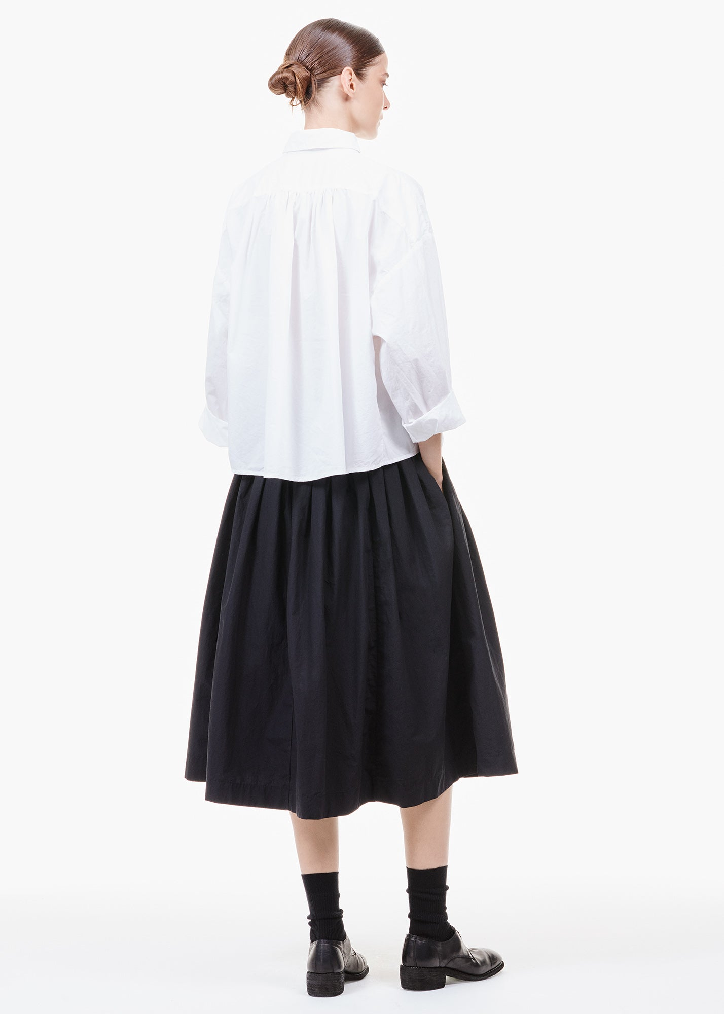 Farmer Skirt Black