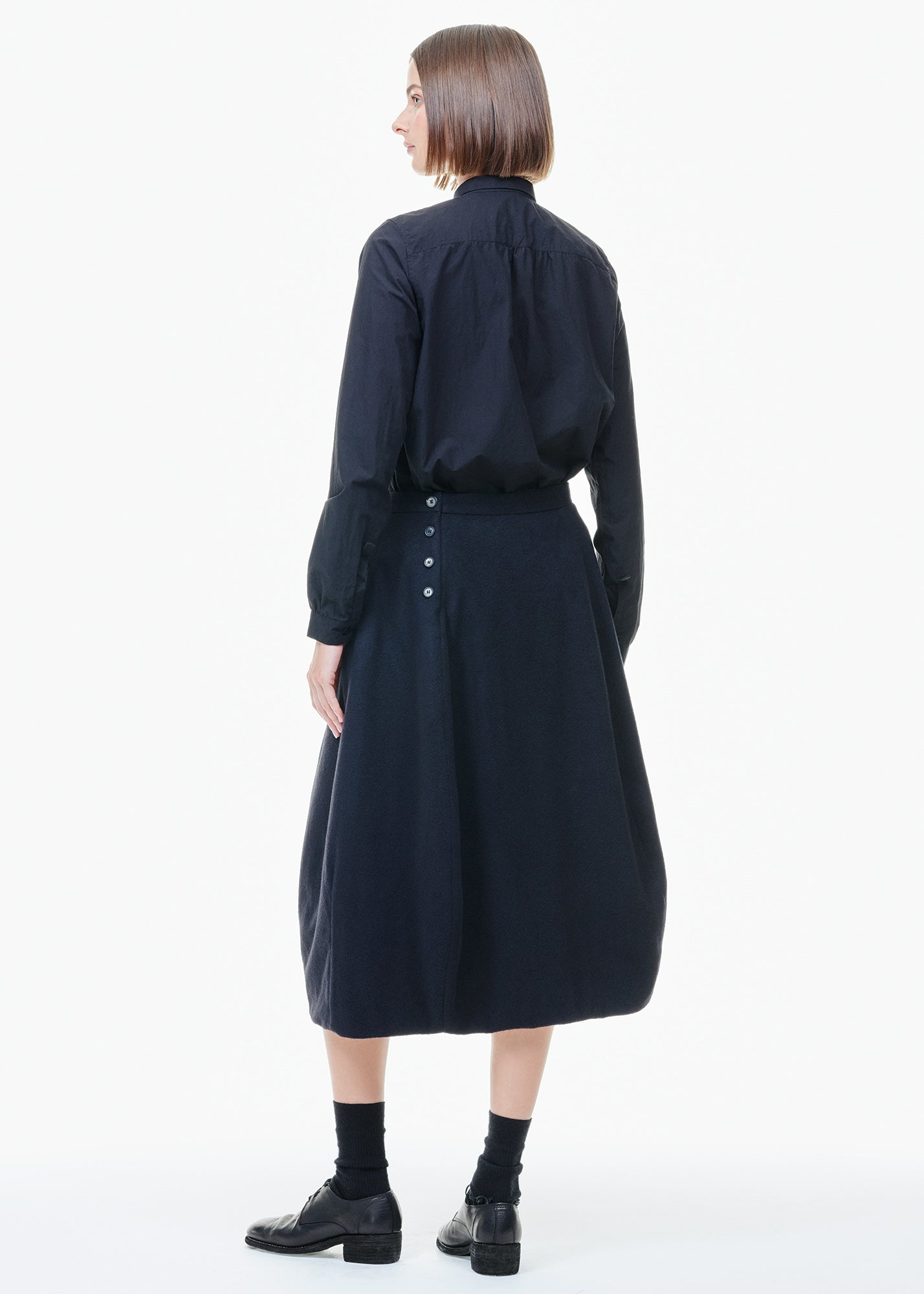 Cashmere Worker Skirt